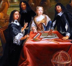 Rene_Descartes_i_samtal_med_Sveriges_drottning,_Kristina