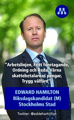 Annons Edward Hamilton