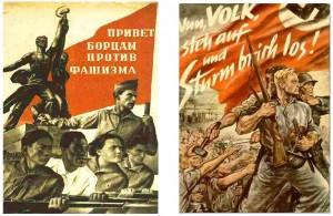 nazi-soviet-posters