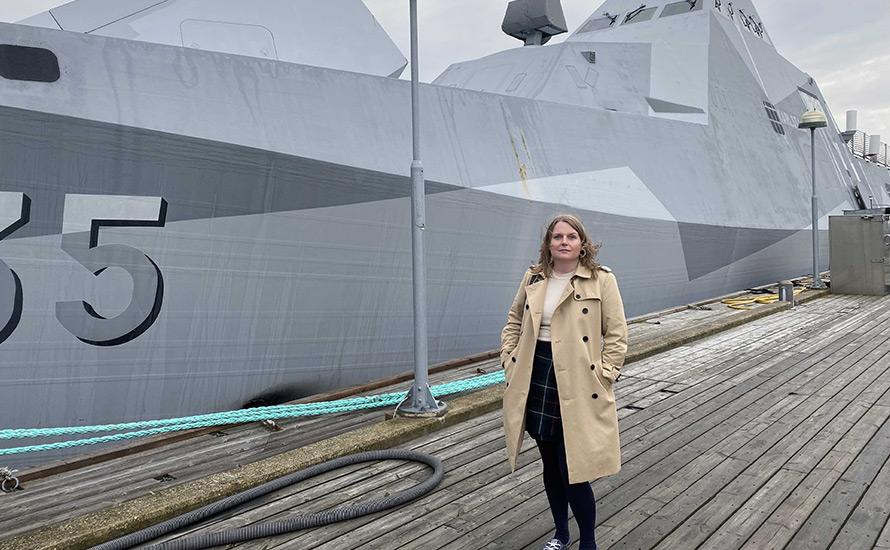 Amanda Wollstad: Rikets säkerhet vilar på dess flotta